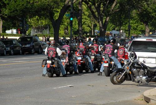 华盛顿摩托车队 by uselife001.