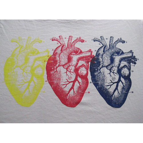 Triple Hearts Detail
