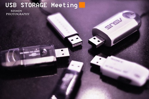 R's photo, USB storage, on the meeting! by rexmen.