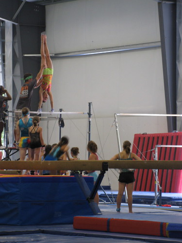 Brandi on high bar