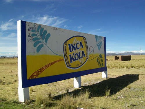 inca kola billboard
