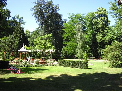 Trellis: Orangerie in Strasbourg