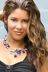 Miranda (Ron McKitrick) Tags: beauty smile hair necklace model lifestyle ron miranda browneyes imagery dpa mckitrick