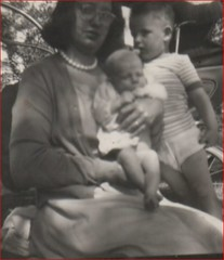 Image titled Mary Reynolds with her two Sons 1967