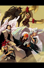 bankai_ppl_by_tobiee (lordismyrock21 - Alex - PFCSparkster) Tags: anime chad bleach rukia sado ichigo kon inoue kenpachi renji toshiro shinigami rangiku zanpaktou gotei