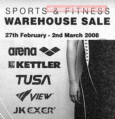 20080227 Arena Sports & Fitness Warehouse Sales2