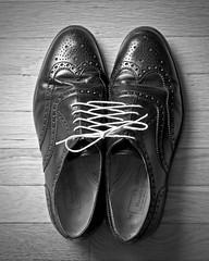 Homage to Chema Madoz (the other Martin Taylor) Tags: shoes tied homage laces pun chemamadoz project365 project366 pad2008feb