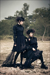 Neverland. (zemotion) Tags: black land egl gothiclolita kagetsuki cruxifixation