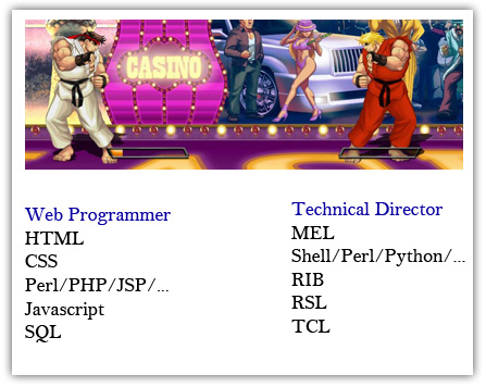 Web Programmer VS. Technical Director