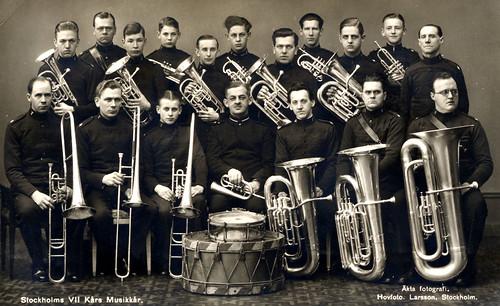 1930-tal Stockholms VII Kårs Musikkår