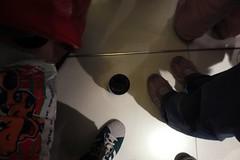 inside the elevator (jobarracuda) Tags: elevator starbucks mug adidas fz50 starbucksmug panasoniclumixdmcfz50 jobarracuda mystarbucksmugsadventure