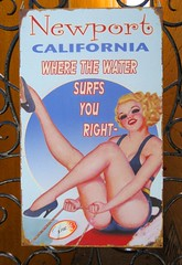 California Classic, Newport Beach Poster (moonjazz) Tags: california woman classic beach beauty smile lady female pose advertising poster wonder fun mujer gate surf arms graphic legs playa tourist sensual nostalgia thighs delight newport blonde bonita lovely bathing tease swimsuit advertise 5photosaday goldstaraward