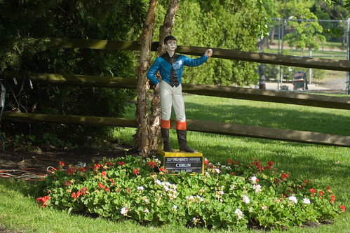 curlins lawn jockey