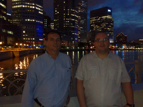 Stephen and Dave @Clarke Quay