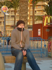 S6303780 (rushtonrich) Tags: sea cold tree beach bench james spain king burger palm mcdonalds hotels benidorm jameselliot