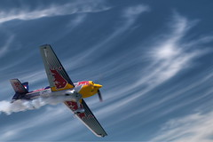 In the Clouds (country_boy_shane) Tags: world blue sky canada motion blur sports water kids america river jones amazing arch shane cut michigan families detroit flight super telephoto slice dell planes acrobatics lamb windsor brave series motor spectators races propeller loud prop thrill daredevil maclean bonhomme aerials stunts daring gorski redbullairrace mangold chambliss canon30d ivanoff goulian canonef400mmf56l besenyei rakhmanin