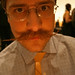 Dustin Stephens has an awesome mustache