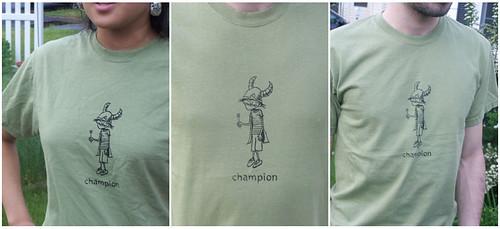 champion shirt!