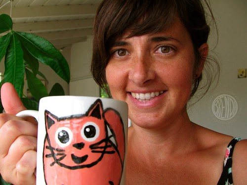 I have my very own Gumball Mug!!!!