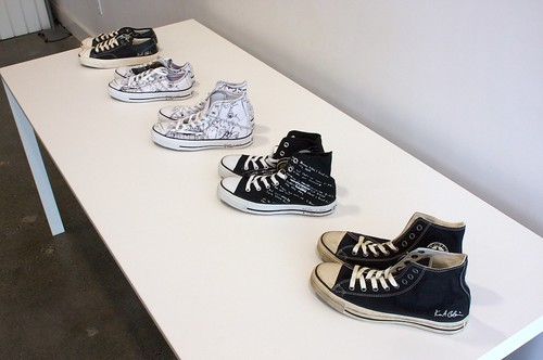 Kurt Cobain Converse Collection