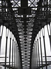 Sucked in! (Alex Cheal) Tags: old bridge metal design walk anniversary famous sydney 75 sydneyharbourbridge bwartaward
