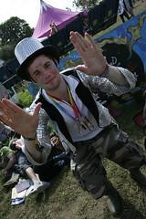 Green Police - Glastonbury Fesitval 2008 (anantnaik) Tags: summer music rain festival outdoors mud glastonbury somerset glastonburyfestival avalon pilton greenfields worthyfarm greenpolice glastonburyfestivalofcontemporaryarts