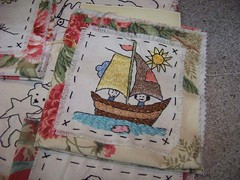 sailing embroidery booklet (shebrews) Tags: embroidery wip teametsy embroiderywip