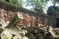 Superior Craftmanship (harryalverson) Tags: stone cambodia taprohm carvings laterite 180550mm
