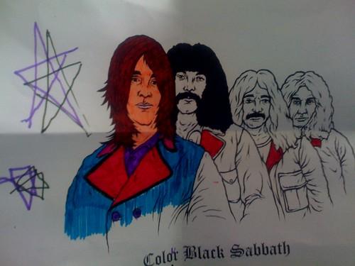 Colour Black Sabbath