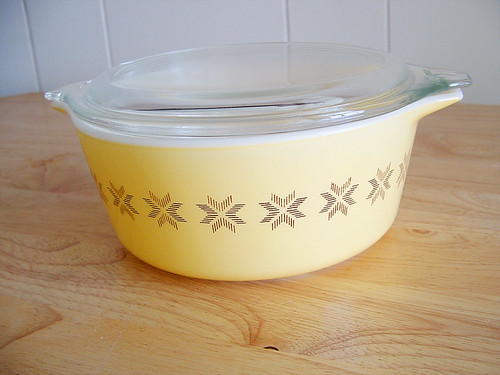 Yellow Pyrex