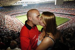 Fan's game wedding proposal   Rob Watkins (Aland Rob) Tags: boy woman man game cute love girl wales fan engagement kiss kissing audience rugby stadium crowd marriage romance romantic match fans welsh proposal embrace vows supporters propose engage embracing spliced