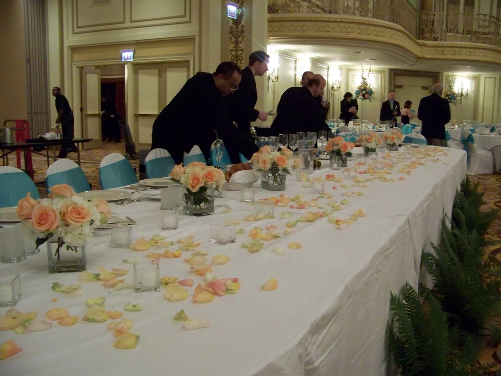 Head Table Composite Arrangement