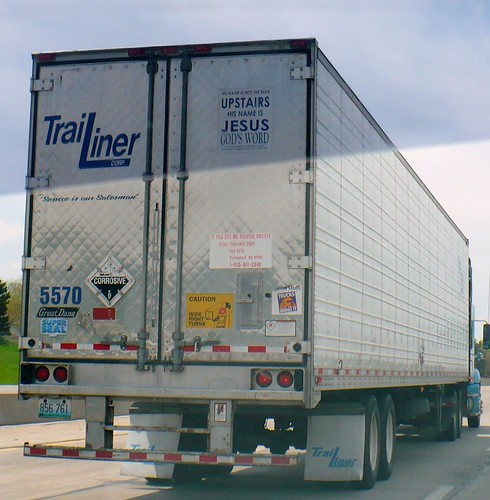 back of the truck