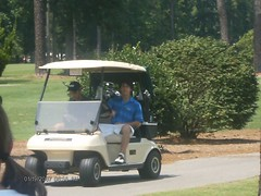Nick in a Golf Cart (Danielle's allergic to JB Poison Ivy ( ISKJ)) Tags: friends sign golf zoe friend kevin peace nick young course golfing jonas myers