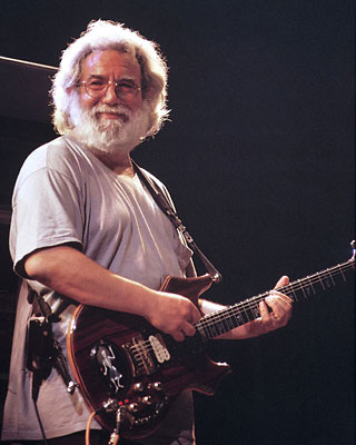 Jerry Garcia of the Grateful Dead and of course the Jerry Garcia Band!