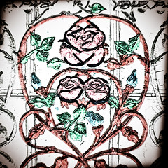 Love is Intricate, Hand Colored