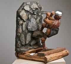 spiderman (Christo Doherty) Tags: sculpture southafrica nikon menatwork figurines johannesburg cls gauteng africanart goldmining boksburg africansculpture chimane christodoherty spazagallery louischamane