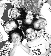 Happy Circle 2 (Shakir's Photography) Tags: white black cute smiling kids laughing circle happy nice pretty   shanko