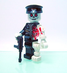 Undead Soldier (Hobo Sapien) Tags: soldier lego undead custom trade