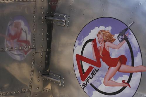 B-17 girl.