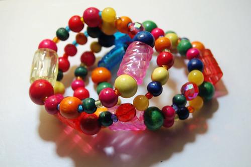 pencil grip spring bracelet