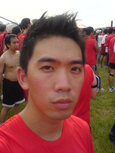 07:19 跑完累了臉很臭