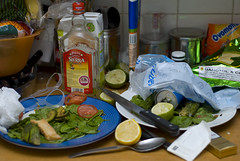 41/365: Aftermath (Sir Hsu) Tags: lemons limes partyaftermath rottenfood project365