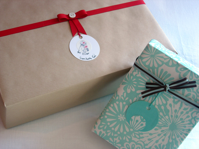 Gift Tag Tutorial - More FInished Tags