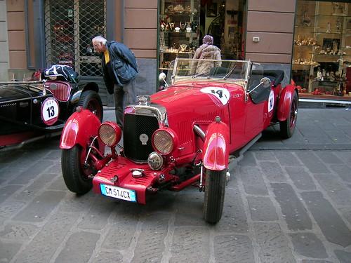 Aston Martin Le Mans Special 1933 por Maurizio Boi.
