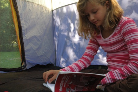 Poetry in the tent