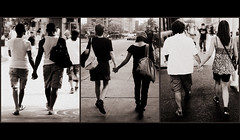 "Triptych: ""LOVE AND THE CITY"" (Sion Fullana) Tags: people urban blackandwhite bw newyork love blancoynegro triptych streetphotography couples holdinghands soe allrightsreserved newyorkers newyorklife iphone gaylove urbanshots lesbianlove urbannewyork anawesomeshot couplesinlove iphonephotography threecouples straightlove iphoneshots sionfullana couplesholdinghands manandwomaninlove twowomeninlove twomeninlove sionfullanaphotography fotografasdesionfullana iphoneography iphoneographer sionfullana"