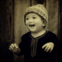 Feelings... (wazari) Tags: boy portrait blackandwhite baby monochrome smile face kids pose children square bigeyes eyes nikon asia child emotion expression posing son myson malaysia emotional anakku melayu malay wajah anak 500x500 potret 50mmlens nikond200 availablelightphotography naturallightphotography anakkecil mywinners hitamputih haiqal platinumphoto wazari expressi aseankids wazarihaiqal