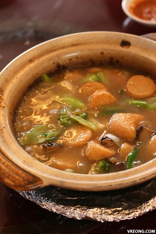 claypot taufu