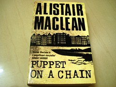 10 Sep 08 Puppet On A Chain by Alistair Maclean (black_coffee_blue_jeans) Tags: fiction reading book reader puppet review books bookshelf hobby read shelf chain jacket cover novel covers bookcover hobbies bookshelves shelves alistair jackets bookcovers reviews maclean bookjacket novels thriller bookreview bookreviews bookjackets alistairmaclean puppetonachain